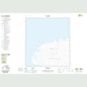 Canadian Topo Map - Emerald Isle - Map 089A14