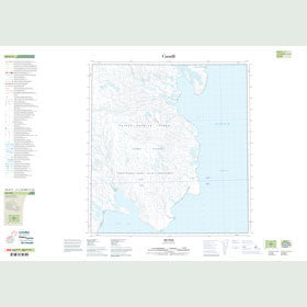 Canadian Topo Map - Map 089B11