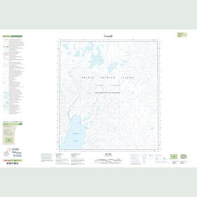 Canadian Topo Map - Map 089B15