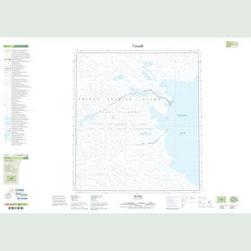 Canadian Topo Map - Map 089C01