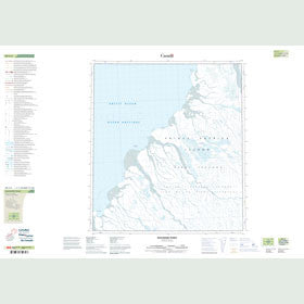 Canadian Topo Map - Discovery Point - Map 089C04
