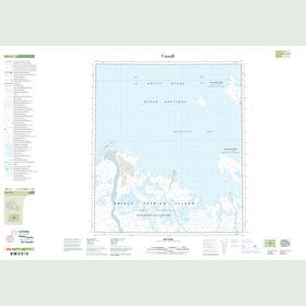 Canadian Topo Map - Map 089C07
