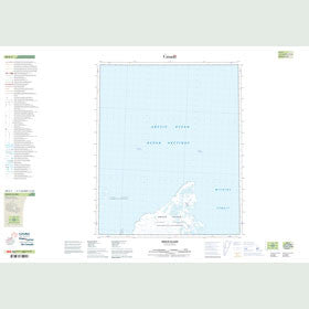 Canadian Topo Map - Brock Island - Map 089E03
