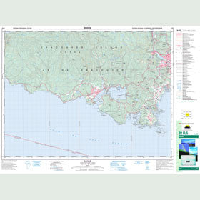 Canadian Topo Map - Sooke - Map 092B05