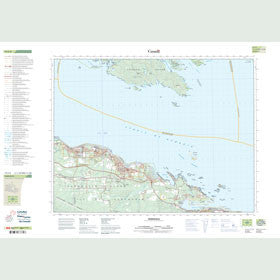 Canadian Topo Map - Parksville - Map 092F08