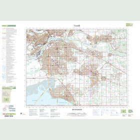 Canadian Topo Map - New Westminster - Map 092G02