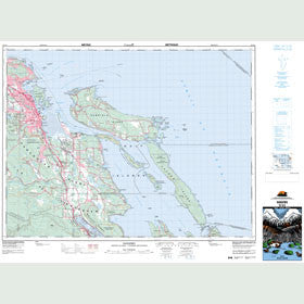 Canadian Topo Map - Nanaimo - Map 092G04