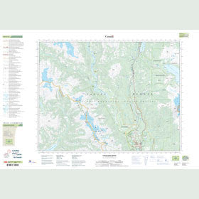 Canadian Topo Map - Cheakamus River - Map 092G14