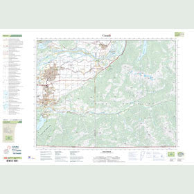 Canadian Topo Map - Chilliwack - Map 092H04