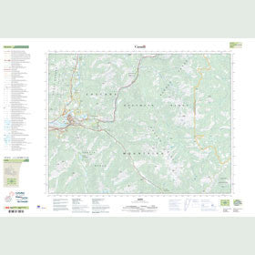 Canadian Topo Map - Hope - Map 092H06