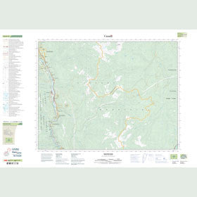 Canadian Topo Map - Boston Bar - Map 092H14