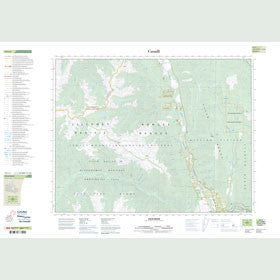 Canadian Topo Map - Stein River - Map 092I05