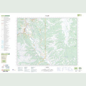 Canadian Topo Map - Lillooet - Map 092I12