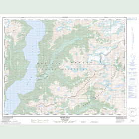 Canadian Topo Map - Orford River - Map 092K10