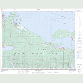 Canadian Topo Map - Port McNeill - Map 092L11