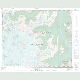 Canadian Topo Map - Trophy Lake - Map 092N12