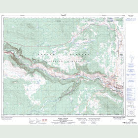 Canadian Topo Map - Riske Creek - Map 092O15