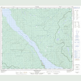 Canadian Topo Map - Pendleton Bay - Map 093K12