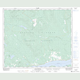 Canadian Topo Map - Colleymount - Map 093L01