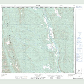 Canadian Topo Map - Cypress Creek - Map 094B15