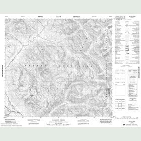 Canadian Topo Map - Malloch Creek - Map 094D13