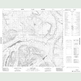 Canadian Topo Map - Laslui Lake - Map 094E05