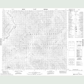 Canadian Topo Map - Map 094F02