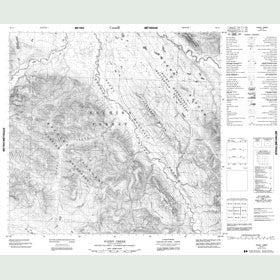 Canadian Topo Map - Paddy Creek - Map 094L07
