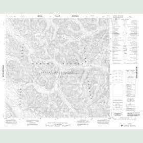 Canadian Topo Map - Map 094L09