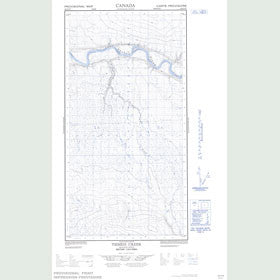 Canadian Topo Map - Tsimeh Creek - Map 094O02W
