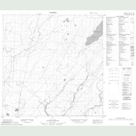 Canadian Topo Map - Map 095A05