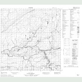 Canadian Topo Map - Map 095G01