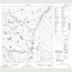 Canadian Topo Map - Map 095O09