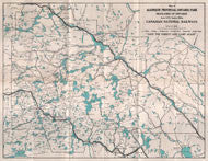 CN Railway Tourist Map from 1926