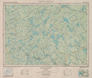 First Park Topographic Map from 1934