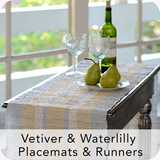 Balizen - Vetiver & Waterlily Placemats