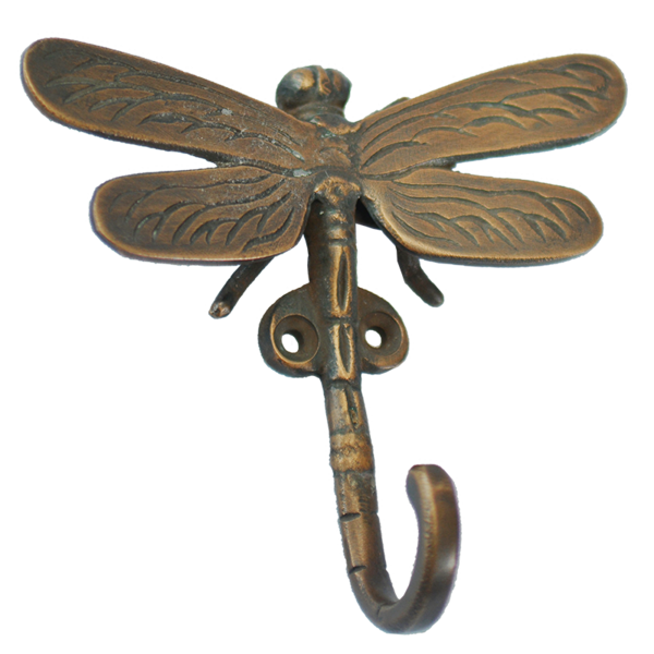 Bronze Hook | Dragonfly