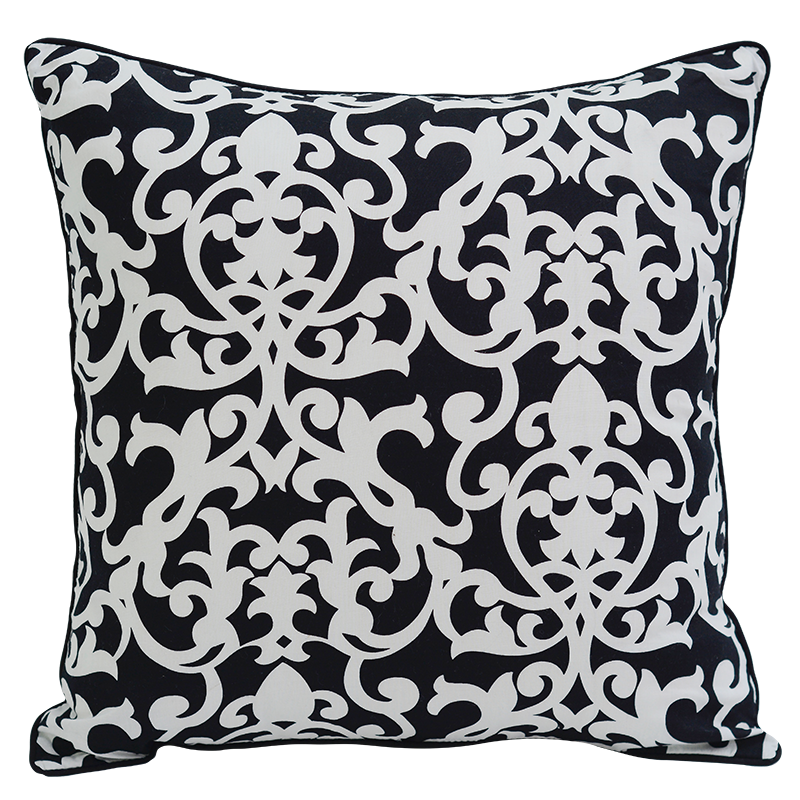 Cushion Cover | Florence Black & White Medium (set of 2)