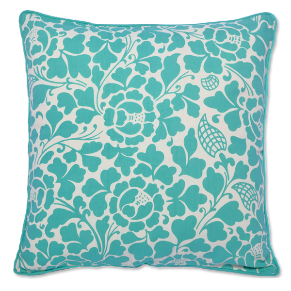 Cushion Cover - Turquoise Prada Medium