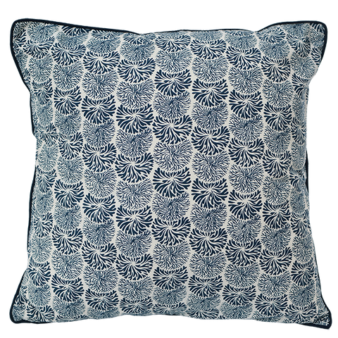 Cushion Cover - Indigo Tumbleweed, Medium