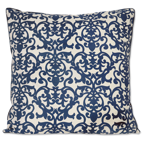 Cushion Cover | Florence Indigo (large) 65cm/26""