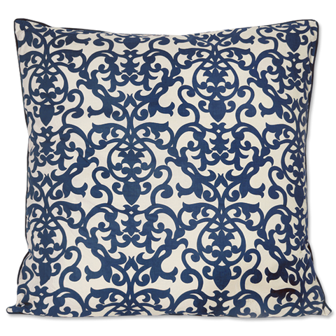 Cushion Cover - Indigo Florence, Large