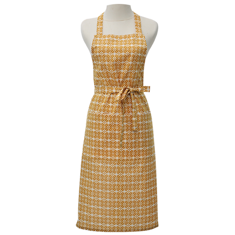 Kitchen Apron - Turmeric Coffee Bean