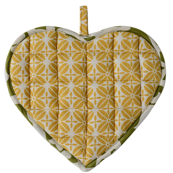 Sweetheart Pot Holder | Turmeric