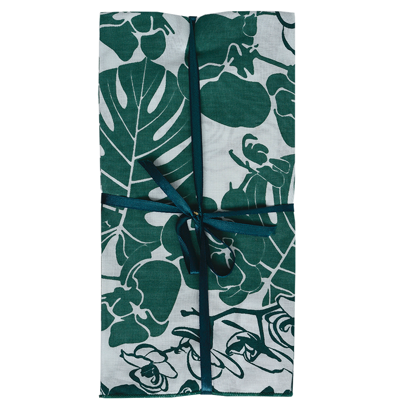 Napkins | Orchid Emerald (set of 8)