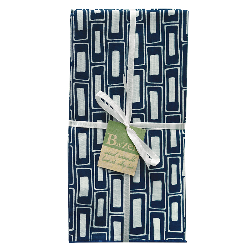 Napkins | Rectangles Indigo (set of 8)