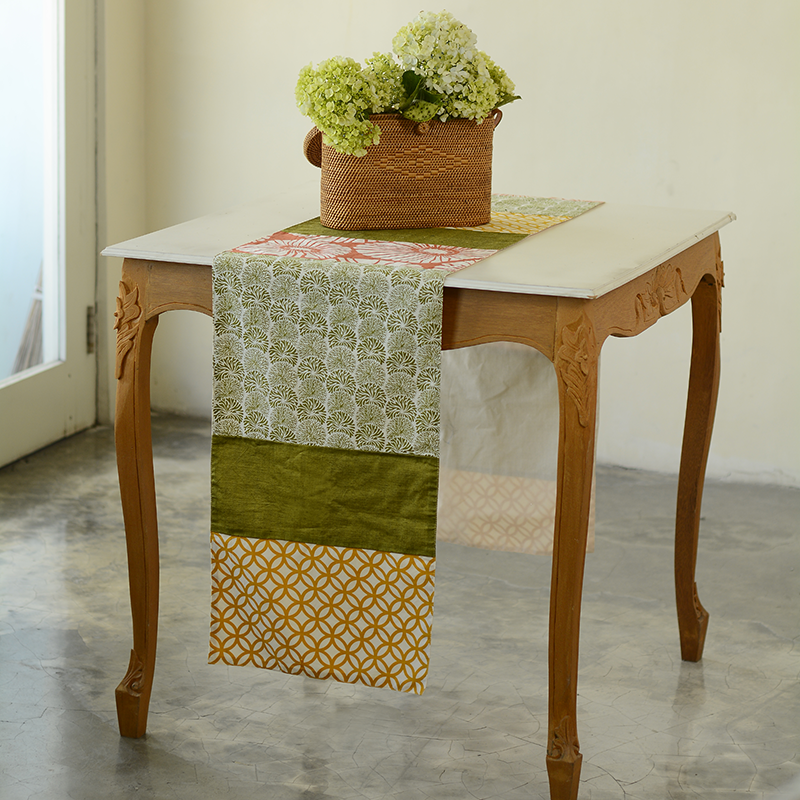 Table Runner | Cotton Citrus (medium)