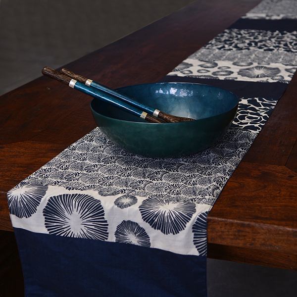 Table Runner | Cotton Indigo (2 sizes)