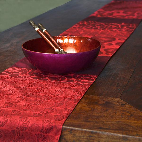 Table Runner | Cotton Red (long)