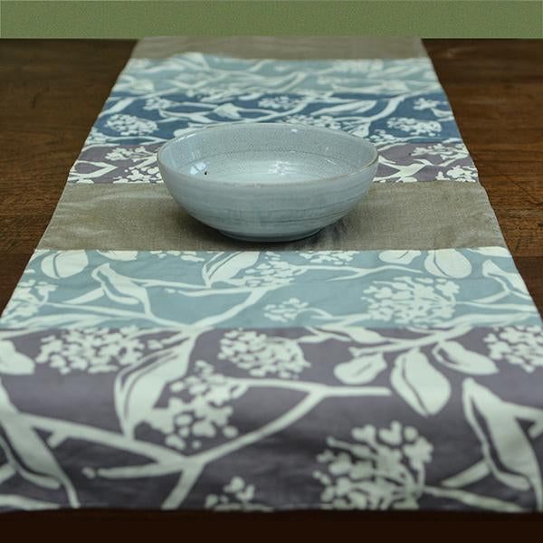 Table Runner | Cotton Stormy (short)